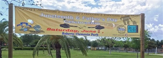 Juneteenth at Clemente Park